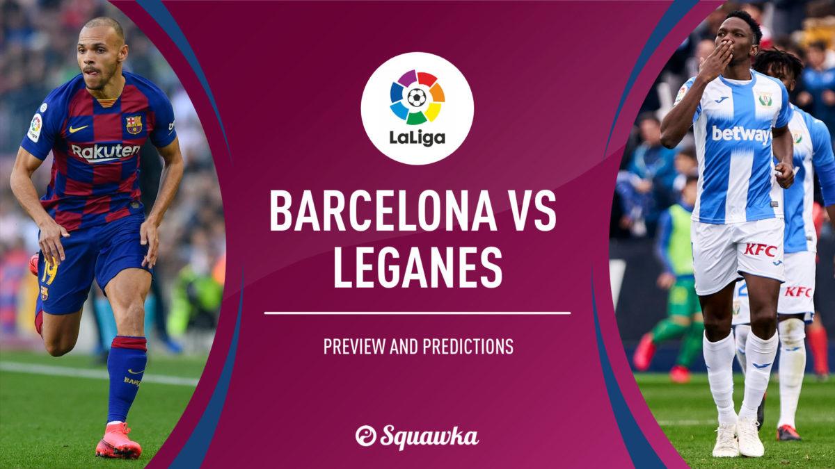 Μπαρτσελόνα – Λεγκανές (2-0) Highlights – La Liga 2019/20 – 16/6/2020
